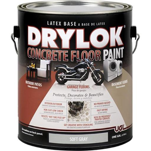 Zar 22613 1 Gallon Concrete Floor Paint, Soft Gray - Pack Of 2