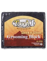 Tough-1 Grooming Block Sleek n' Shine Finishing Touch Black 68-9990 68-9990