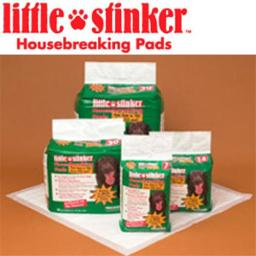 Precision Pet 6000-66099 Little Stinker Housebreaking Pads 24 x 24 Inch - 100-pack