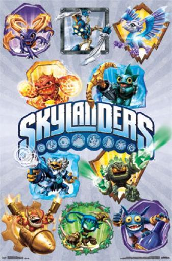 Skylanders Core - Grid Poster Print HVAUMZTNMLR9QPFS