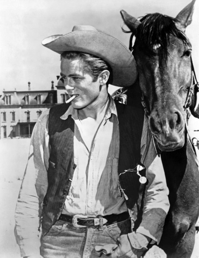 A Promotional Still Of James Dean in A Cowboy Costume Photo Print