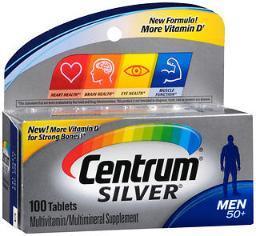 Centrum Silver Men 50+ Tablets - 100ct