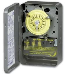 Intermatic Heavy Duty Time Switch Intermatic T104 Commercial Grade Timer 240/277 Volt