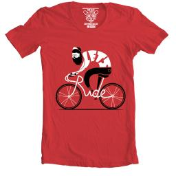 Cwg lets ride mens red sm