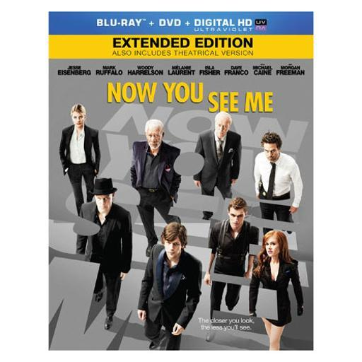 Now you see me (blu ray/dvd/ultraviolet/dc) FAPIAY6CQGEO2TXI