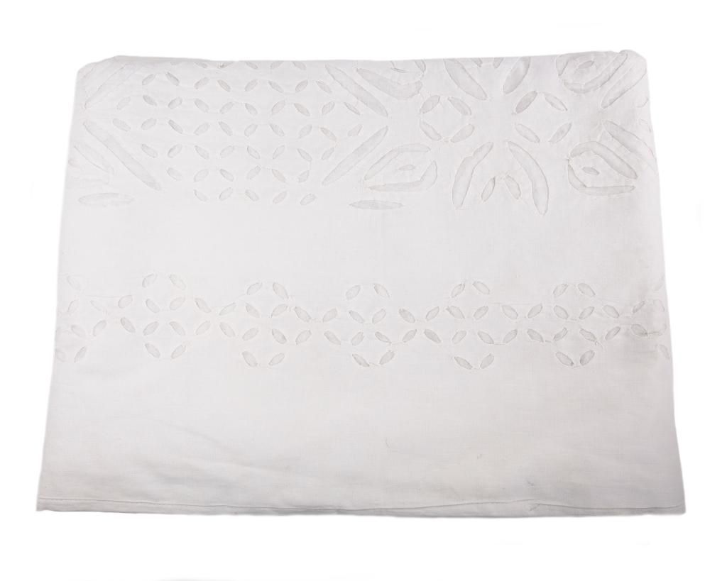 Roberta Roller Rabbit Cotton Cut Out Bedcover King White