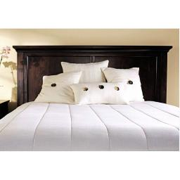 Sunbeam M1P Quilted Electric Heated Warming Mattress Pad White K016
