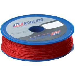 Robline waxed tackle yarn 0.8mm x 40m red
