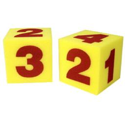 Learning Resources 032-1958 Foam Numeral Dice