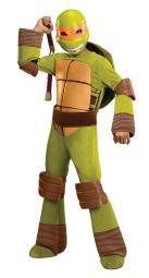 Teenage Mutant Ninja Turtles Deluxe Michelangelo Costume Small RU886763SM