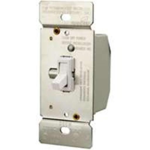 Cooper Wiring Ti306-w-k Toggle Dimmer 3 Way, W/white