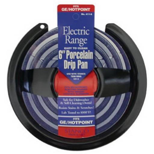 Stanco Metal Prod 411-6 Electric Non Stick Stove Pan - 6 in.