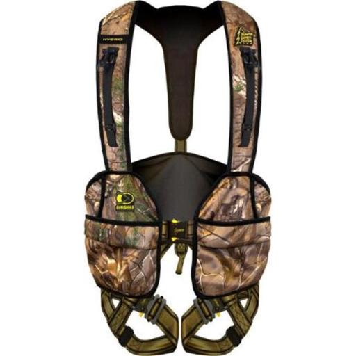Hunter Safety System HSS5106 Hybrid Flex Safety Harness 2X & 3X with Elimishield