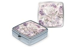 Pun43838 punch studio pill box silver vines