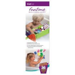 Kidco s3722 green kidco fun time bath storage basket green