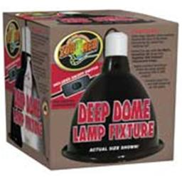 Zoo Med Laboratories Lamp Clamp Reptile Deep Dome Black - LF-17 679663