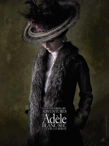 The Extraordinary Adventures of Adele Blanc-Sec Movie Poster (11 x 17) EKQ9VD4UBQQ5N2NQ