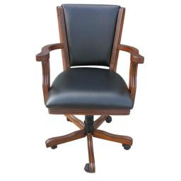 NG2366CH 4 Walnut Poker Chairs