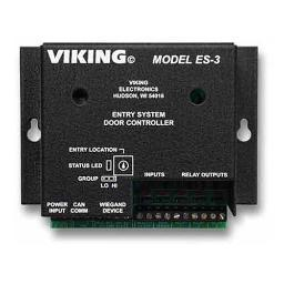 Viking es-3 entry system door controller for aes