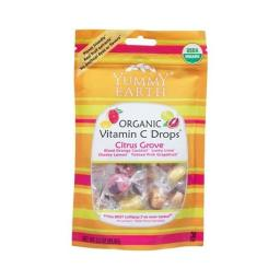 Yummy Earth 38595 Organic Vitamin C Lollipop