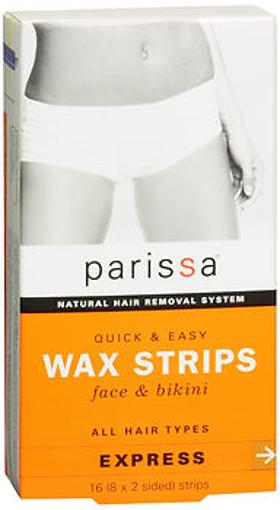 Parissa Quick & Easy Wax Strips, Face & Bikini - 16 each YVT9SXWSKE2SITYK