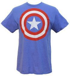 Marvel Universe Captain America Shield Men's T-Shirt
