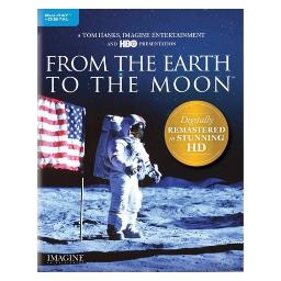 From the earth to the moon (blu-ray/digital hd/12 part hbo miniseries)