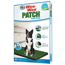 Four paws 100203054 four paws wee-wee patch indoor potty medium 30 x 20 x 1