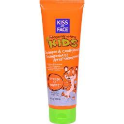 Kiss My Face HG0456525 8 fl oz Kids Shampoo & Conditioner Orange U Smart