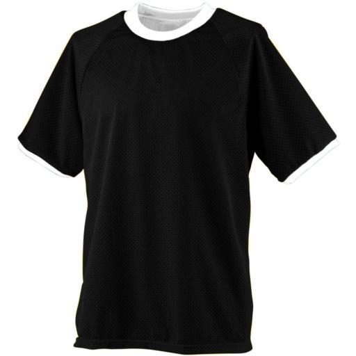 217 Reversible Practice Jersey Black/White L ZNY2XWR4NPLWCBHT