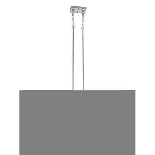 Design House 578468 Karsen 4 Light Linear Pendant - Polished Chrome