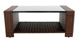 Innovex Home Products Prima Outdoor Patio Coffee Table - Auburn