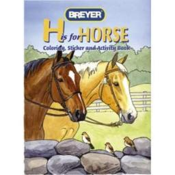 """""""H"""" is for Horse Coloring, Sticker and Activity Book"""