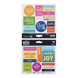 Illustrated Faith - Cardstock Stickers - Go and Tell - 23 Count