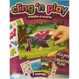 Cling' N Play Create a -Scene ~ 2 scences