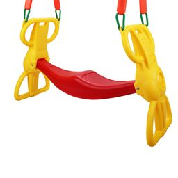 Back to Back Rider Glider Swing For 2 Kids w/ Hangers