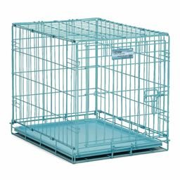 Midwest iCrate Single Door Dog Crate - Blue