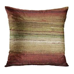 Emvency Throw Pillow Cover Western Tribal Indian Geometric Brown Southwest Decorative Pillow Case Home Decor Square 18 x 18 Inch Pillowcase