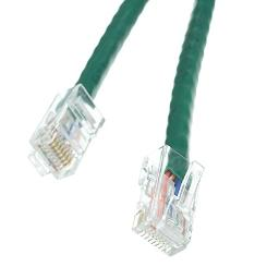 Offex Cat6 Green Ethernet Patch Cable, Bootless, 3' (OF-10X8-15103)
