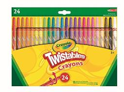 CrayolaTwistables Crayons, Pack of 24 - Multicolour