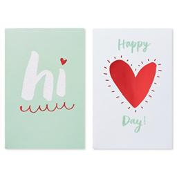 American Greetings Valentine's Day Cards with Envelopes, Assorted Designs (6-Count)