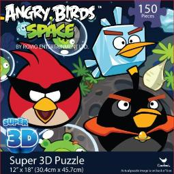 Angry Birds SPACE Super 3D Puzzle