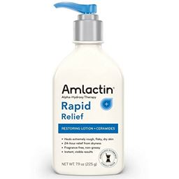 AMLACTIN Alpha-Hydroxy Ceramide Therapy Restoring Lotion, Fragrance Free 7.9 oz (Pack of 3)