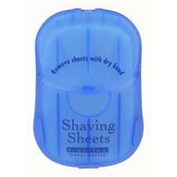 Travelon 02094-33 Shaving Sheets - Blue