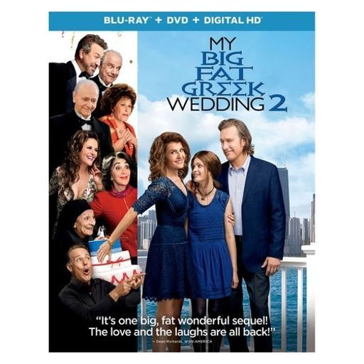 My big fat greek wedding 2 (blu ray/dvd w/digital/uv) CJLDQJKPF4DL9LER