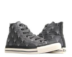 Converse Chuck Taylor Quilted Hi Shells Black/Parchment Sneakers 100101