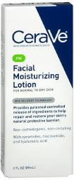 Cerave Pm Facial Lotion-3 Oz, Pack Of 4