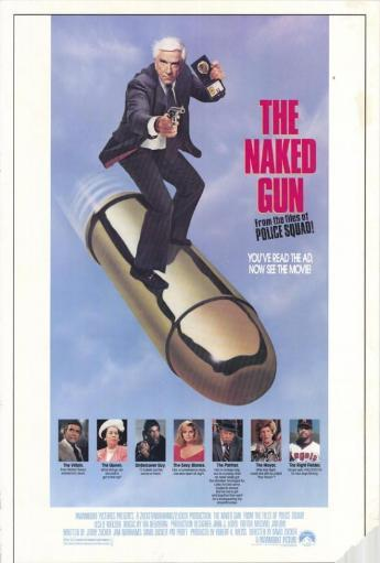 The Naked Gun From the Files of Police Squad Movie Poster (11 x 17) L9213IRYQENLRDRV