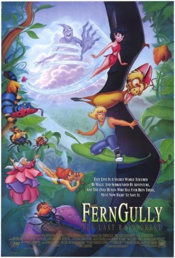Ferngully: The Last Rain Forest Movie Poster Print (27 x 40) IUSIPVRFS2KINTTR