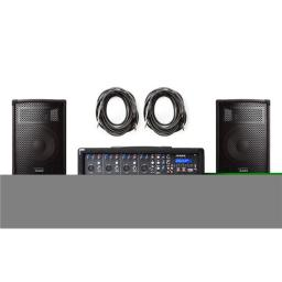Alesis PAINABOX 280W 4-Channel PA System in a Box